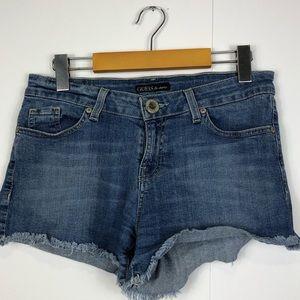 3/$30 Guess Denim Cut Off Shorts Sz 29
